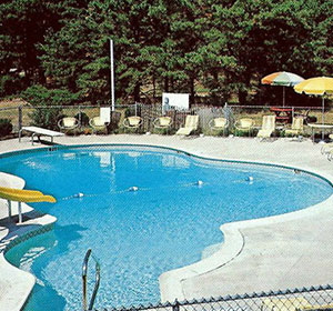 New Pool at Wellfleet Motel & Lodge